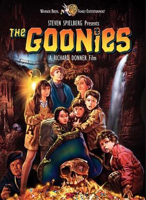 Cartaz do filme 'The Goonies', de 1985 (Foto: Reprodução)