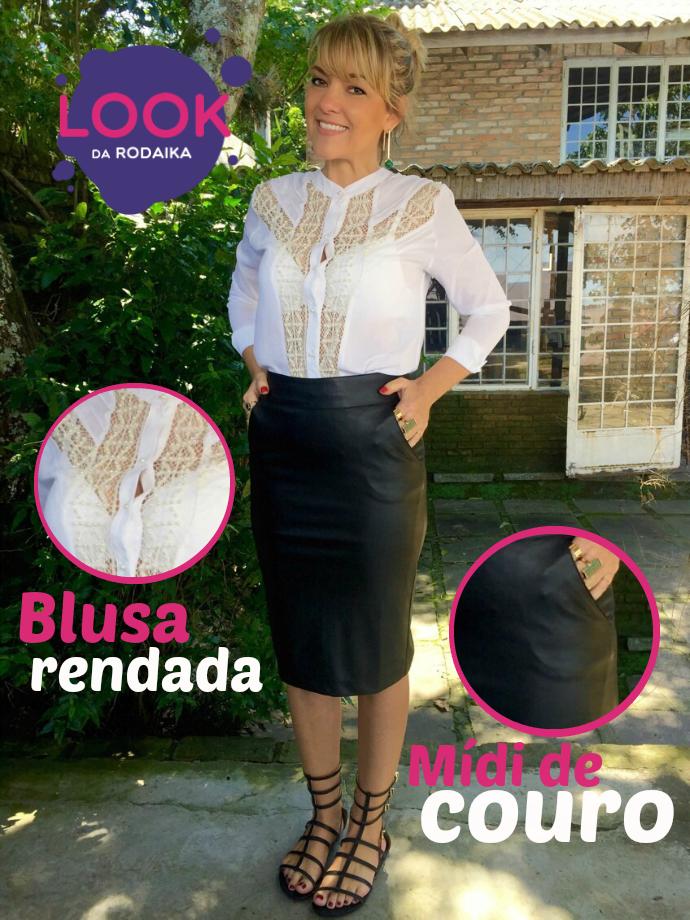 Look da Rodaika 31.10 (Foto: Rafaela Melz/RBS TV)