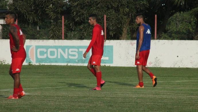 Mateus (Mateuzinho) - meia do América-RN (Foto: Jocaff Souza/GloboEsporte.com)