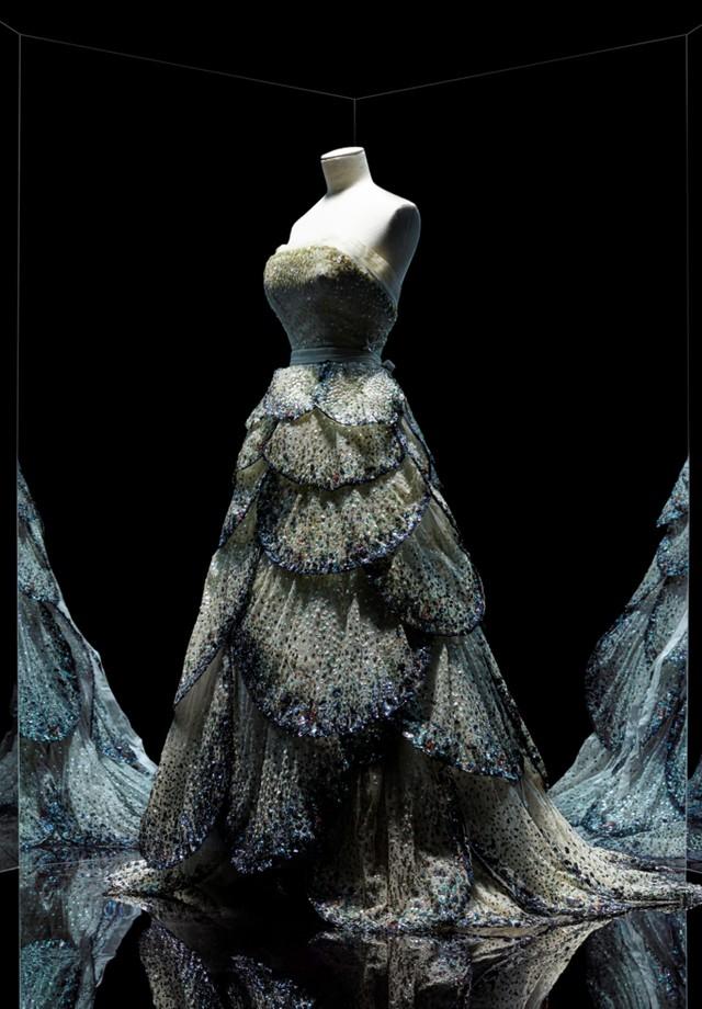 Junon dress by Christian Dior, haute couture fall-winter 1949 (Foto: Reprodução)
