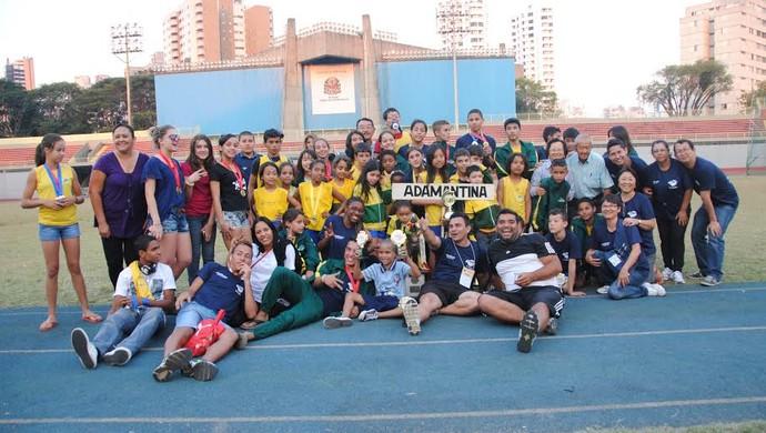 Adamantina foi representada por 64 crianças e adolescentes (Foto: Estela Mendes / Divulgação)