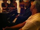 Filho de Preta Gil posta foto do Natal, com canja de Gil e Stevie Wonder
