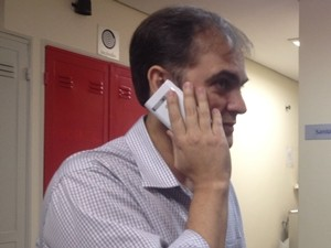 Wladimir Garcez depõe na Justiça Federal em Goiânia sobre venda da casa de Marconi Perillo (Foto: Gabriela Lima/G1)
