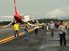Avião da TAM pousa em Manaus sob ameaça de bomba, afirma PF