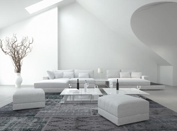Paredes sem imperfeições: efeito de Decoratta, a massa inovadora (Foto: Thinkstock)