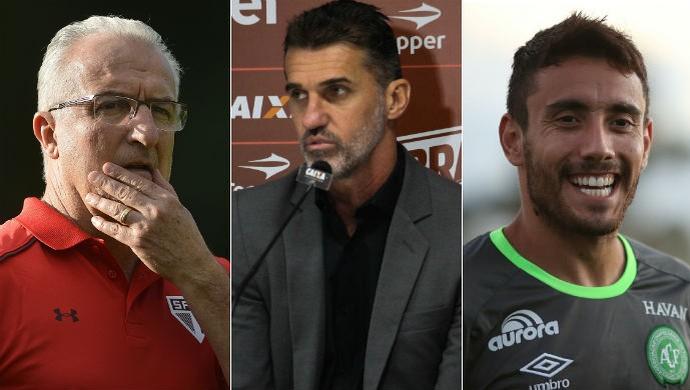 Convidados Bem, Amigos: Dorival, Mancini e Ruschel (Foto: SporTV)