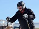 Putin inspeciona locais dos Jogos de Sochi e aproveita para esquiar