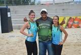 Vôlei de praia: Ana e Rayane fazem a semifinal nesta terça, contra o Pará