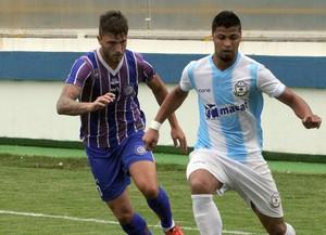 Romário, Macaé x Madureira (Foto: Tiago Ferreira)