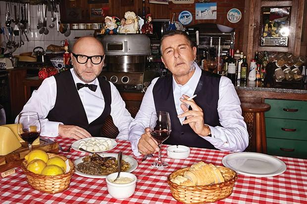 Domenico Dolce e Stefano Gabbana (Foto: JR Duran)