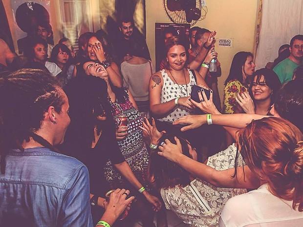 Festa no Hotel Imperial, no Centro de Vitória (Foto: Fabricio Zucoloto/ Divulgação)