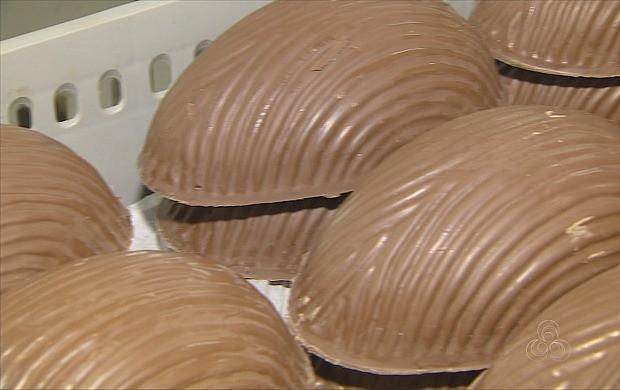 Brasil é o terceiro país que mais consome chocolate (Foto: Amazonas TV)