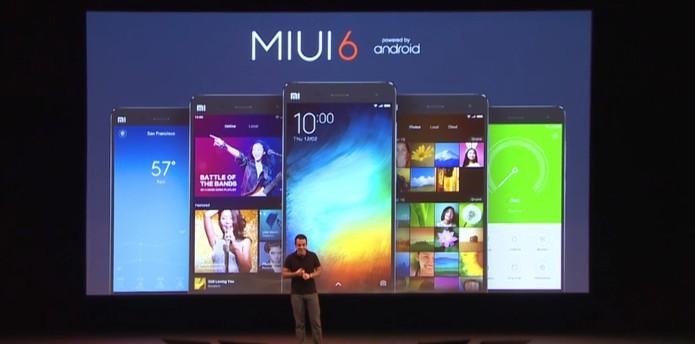 Miui6 (Foto: Reprodução/Xioami)