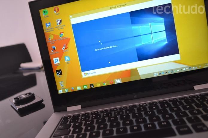 Microsoft irá encerrar suporte ao Windows Vista em abril (Foto: Melissa Cruz/TechTudo)
