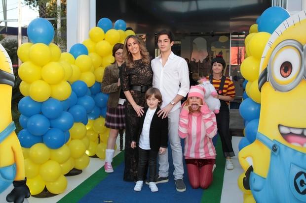 Aniversário de Pietro, filho de Otávio Mesquita (Foto: Orlando Oliveira e Thiago Duran / AgNews)