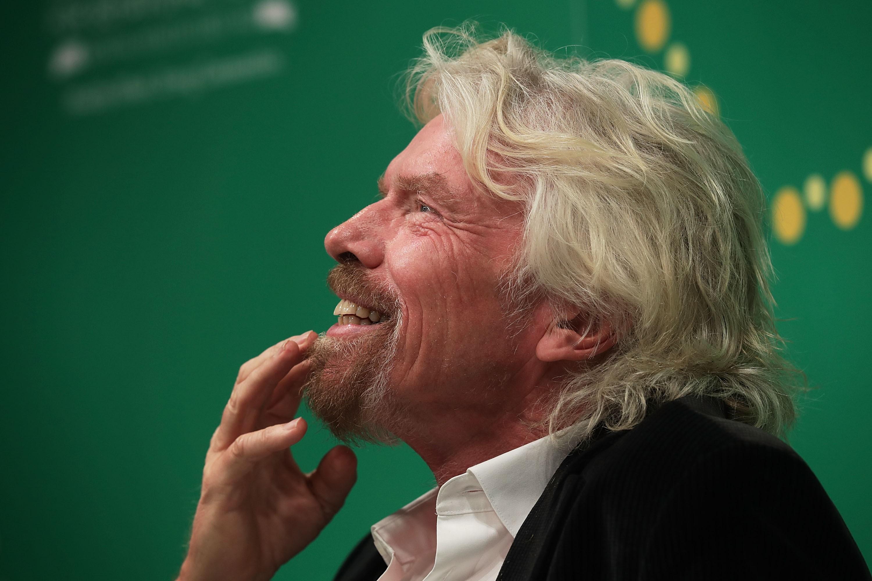 Richard Branson quer lançar satélites ao espaço (Foto: Getty Images/Alex Wong)