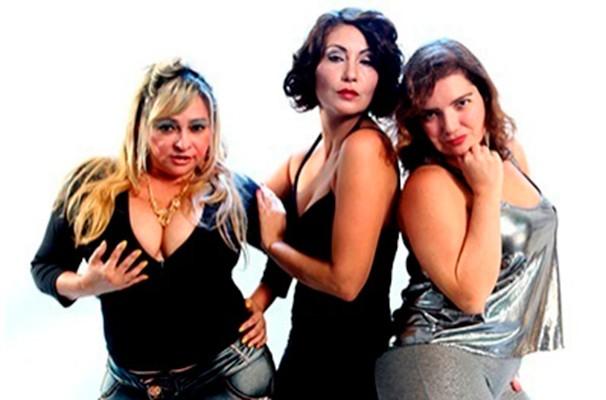 As atrizes Rayssa Castro, Viviane Delfino e Adriana Luna vivem as futuras subcelebridades (Foto: Divulgação)