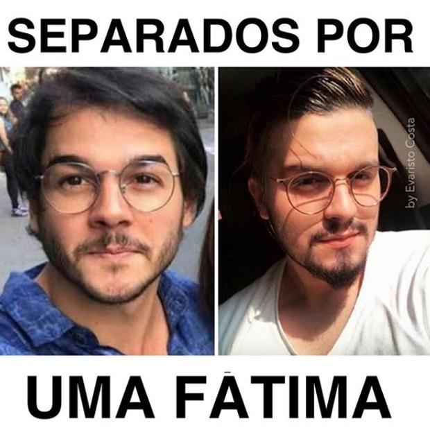 Tulio Gadelha e Luan Santana (Foto: Reprodução)