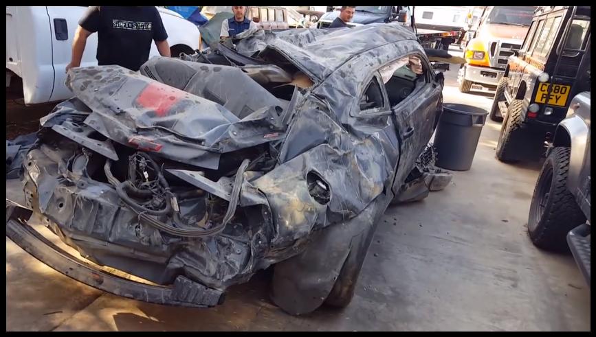 Isso era um Camaro. Era.  (Foto: Reprodução/Youtube)