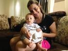 Jovem que sentiu rosto do filho em 3D da à luz: 'Exatamente como imaginava'
