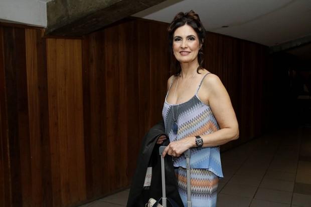 Fátima Bernardes (Foto: Daniel Pinheiro/AgNews)