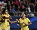 Marta faz golaço, e Brasil empata com a França em amistoso em Grenoble