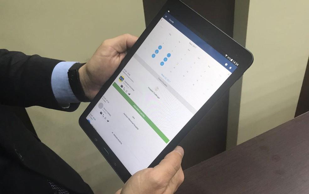 Mobi Saúde é um aplicativo que gerencia profissionais da saúde (Foto: Ricardo Benichio/Divulgação)