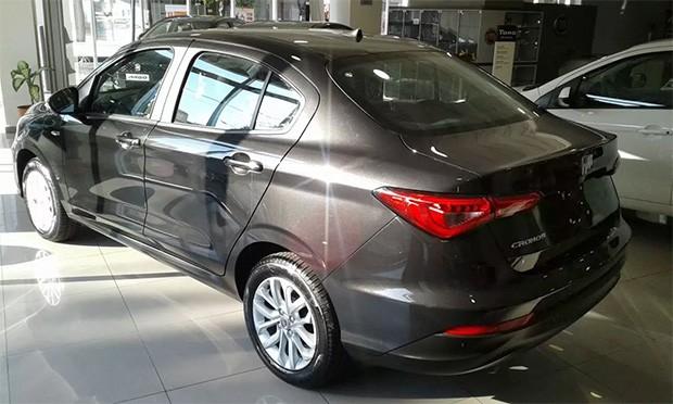 Fiat Cronos já está à venda nas concessionárias da Argentina (Foto: Reprodução/Mercado Livre)