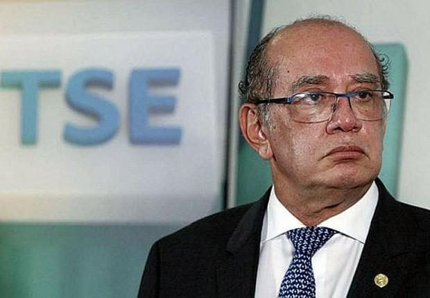 O presidente do Tribunal Superior Eleitoral (TSE), Gilmar Mendes (Foto: Agência O Globo)