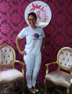 Márcia Melo, após tratamento contra o câncer de mama (Foto: Márcia Melo/ arquivo pessoal )