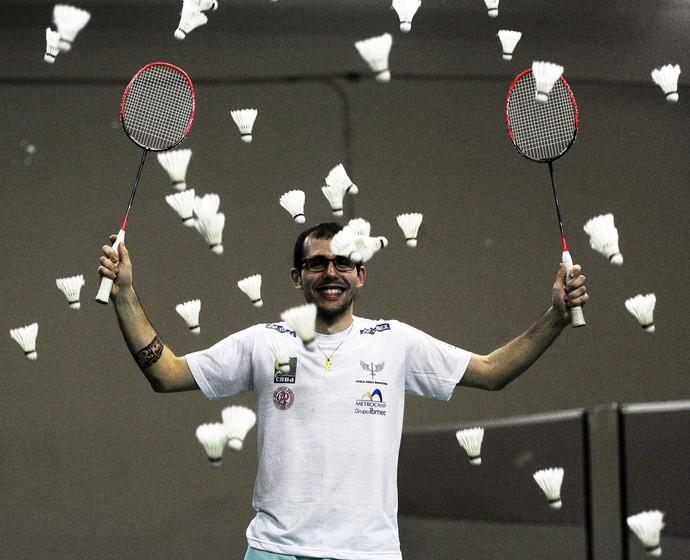 Daniel Paiola - badminton (Foto: Marcos Riboli)