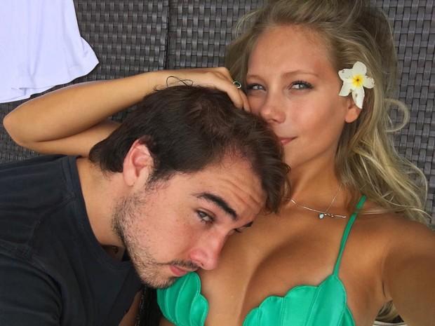 Olin Batista e Jéssica Günter (Foto: Reprodução/Instagram)