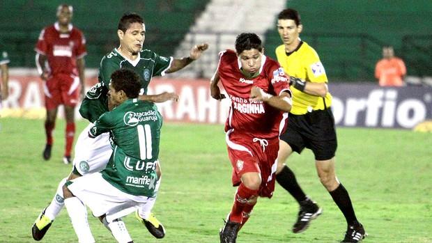 partida entre Guarani e Boa Esporte (Foto: Ag. Estado)