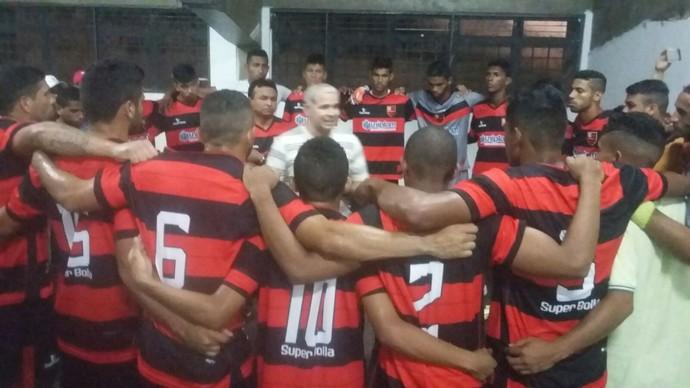 Tiago Vasconcelos Flamengo-PI (Foto: Divulgação/ECF)