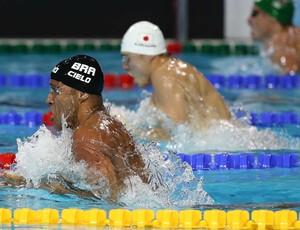 joão junior natação (Foto: Satiro Sodré/Agif)