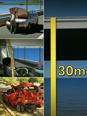 animação ponte rio niteroi (Foto: TV Globo/Reprodução)