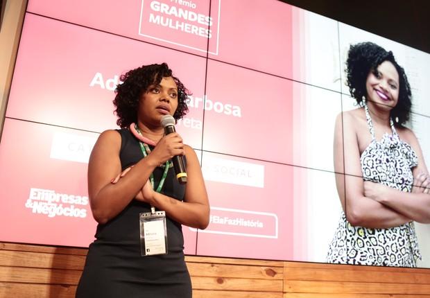 Adriana Barbosa, fundadora da Feira Preta (Foto: Keiny Andrade)