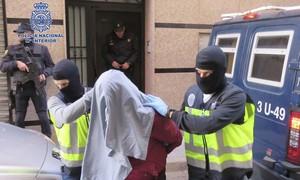 Sete pessoas são detidas na Espanha por supostos vínculos extremistas