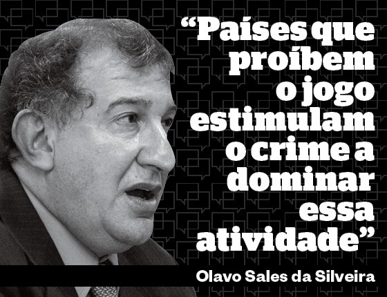 Olavo Sales da Silveira Presidente da Associação Brasileira de Bingos, Cassinos e Similares (Abrabincs) (Foto: Época )