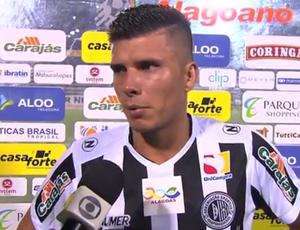 Léo Campos ASA (Foto: Reprodução/TV Gazeta)