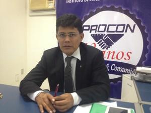 Vicente Cruz, diretor do Procon no Amapá (Foto: Jéssica Alves/G1)