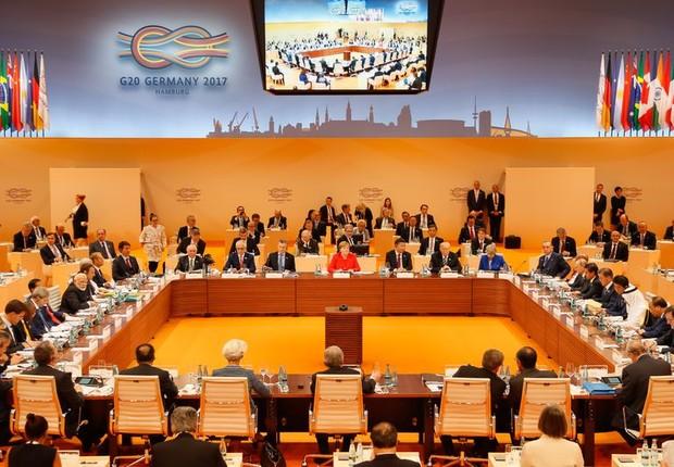 Cúpula do G20 começa em Hamburgo (Foto: Beto Barata/PR)