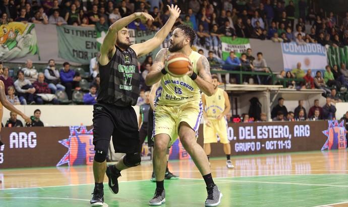 Mogi das Cruzes x Gimnasia de Comodoro Liga Sul-Americana de Basquete (Foto: Jose Jimenez Tirado/FIBA)