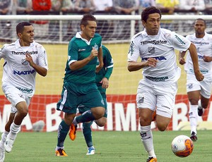 Luis Mario na partida do Bragantino contra o Goiás (Foto: Ag. Estado)