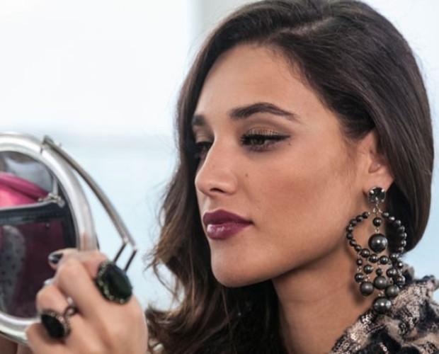 Copie o make de Maria Vergara e fique deslumbrante para o seu amor (Foto: Geração Brasil/TVGlobo)