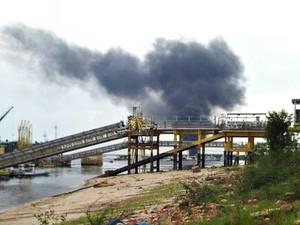 Não há informações sobre causas da explosão (Foto: Arquivo Pessoal)