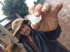 Granizo e vendavais atingem cidades de diferentes regiões de SC