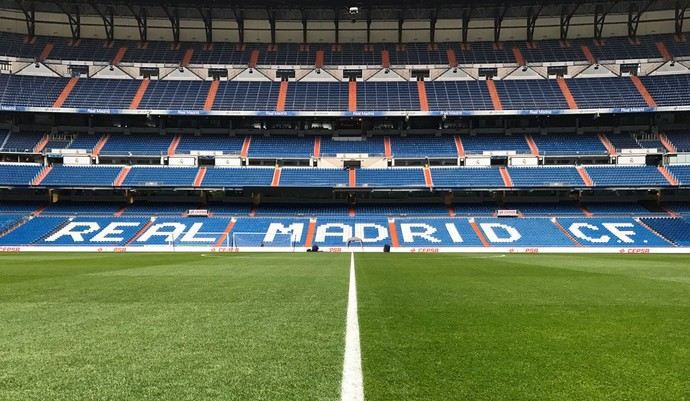 Santiago Bernabéu Real Madrid Real Sociedad Tempo Real (Foto: Reprodução / Twitter)