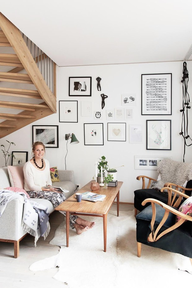 Blogueira revela os segredos da decora o em estilo - Estilo nordico escandinavo ...
