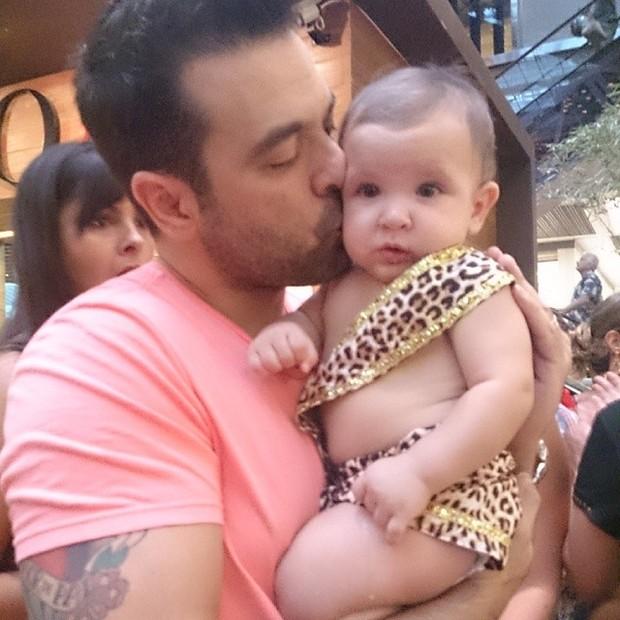 Pietro, filho de Priscila Pires (Foto: Instagram/Reprodução)